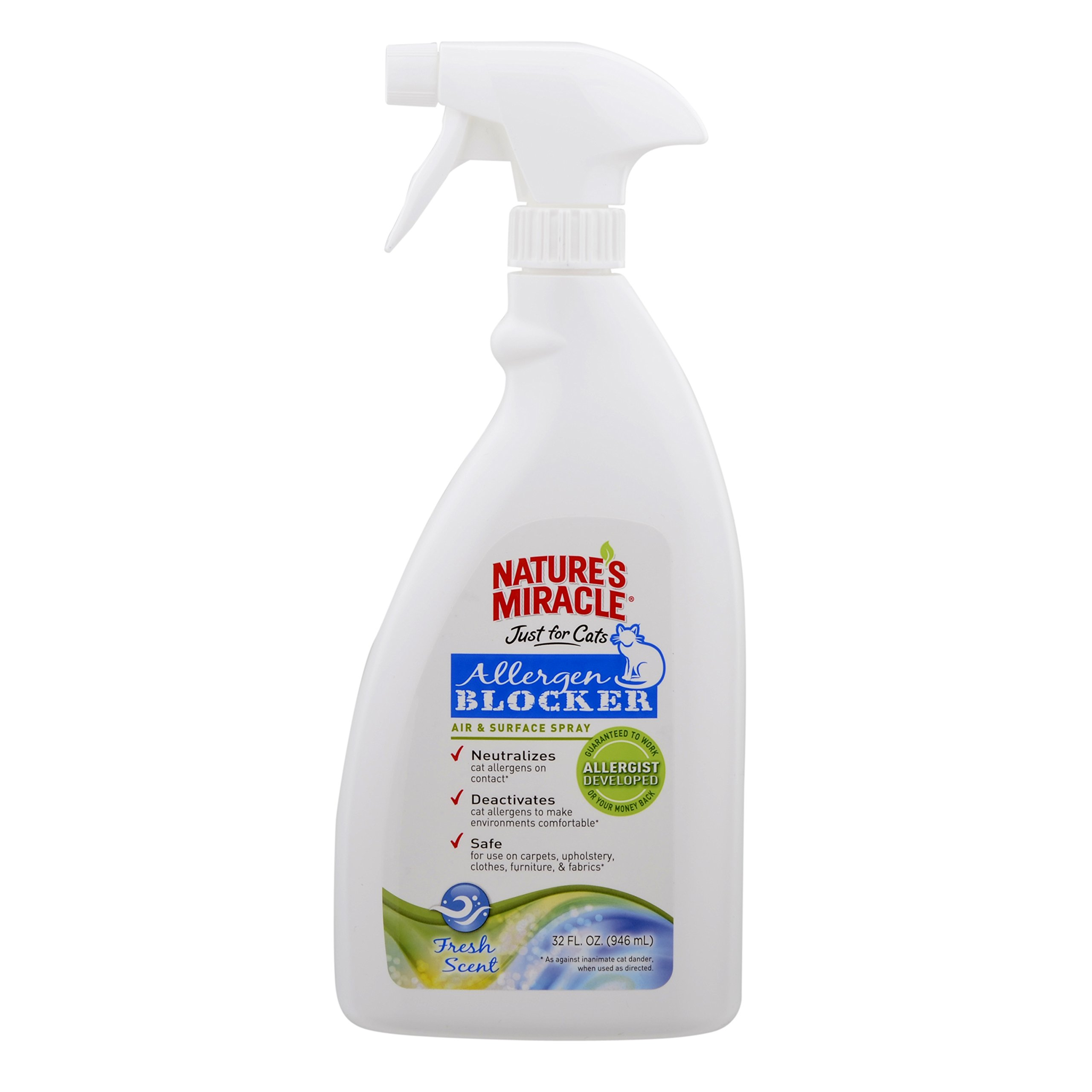 Nature's Miracle Just for Cats Air & Surface Spray 32 oz. (NM-5473)