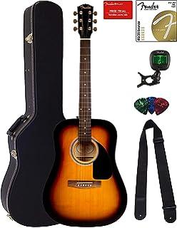 Amazon.com: Epiphone DR-100 Acoustic Guitar, Vintage Sunburst ... on
