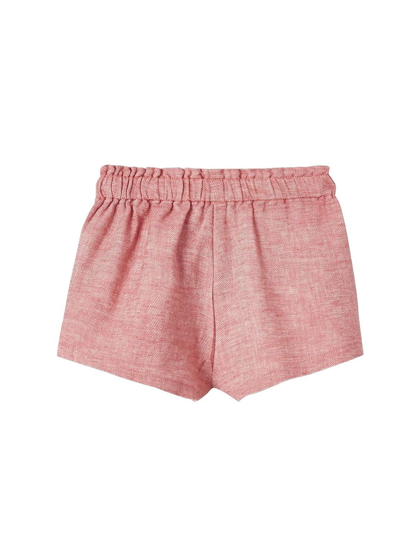 Vertbaudet Baby M/ädchen Shorts Leinenmix
