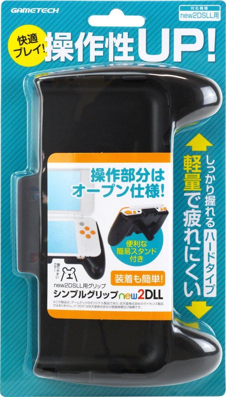 GAMETECH Nintendo new2DS XL Comfort Simple Hand Grip by GAMETECH