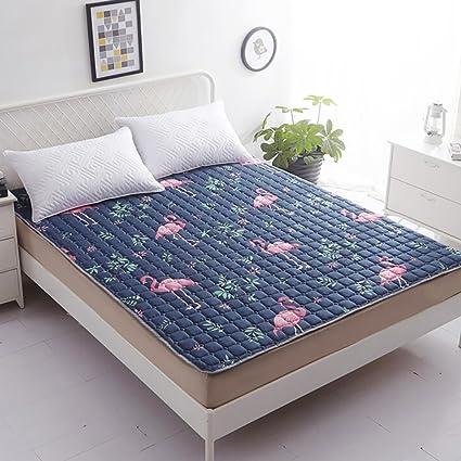 DULPLAY Antideslizante Colchón Suave,Primeros del colchón,Tatami Colchón,Fibra Cama Doble tamaño