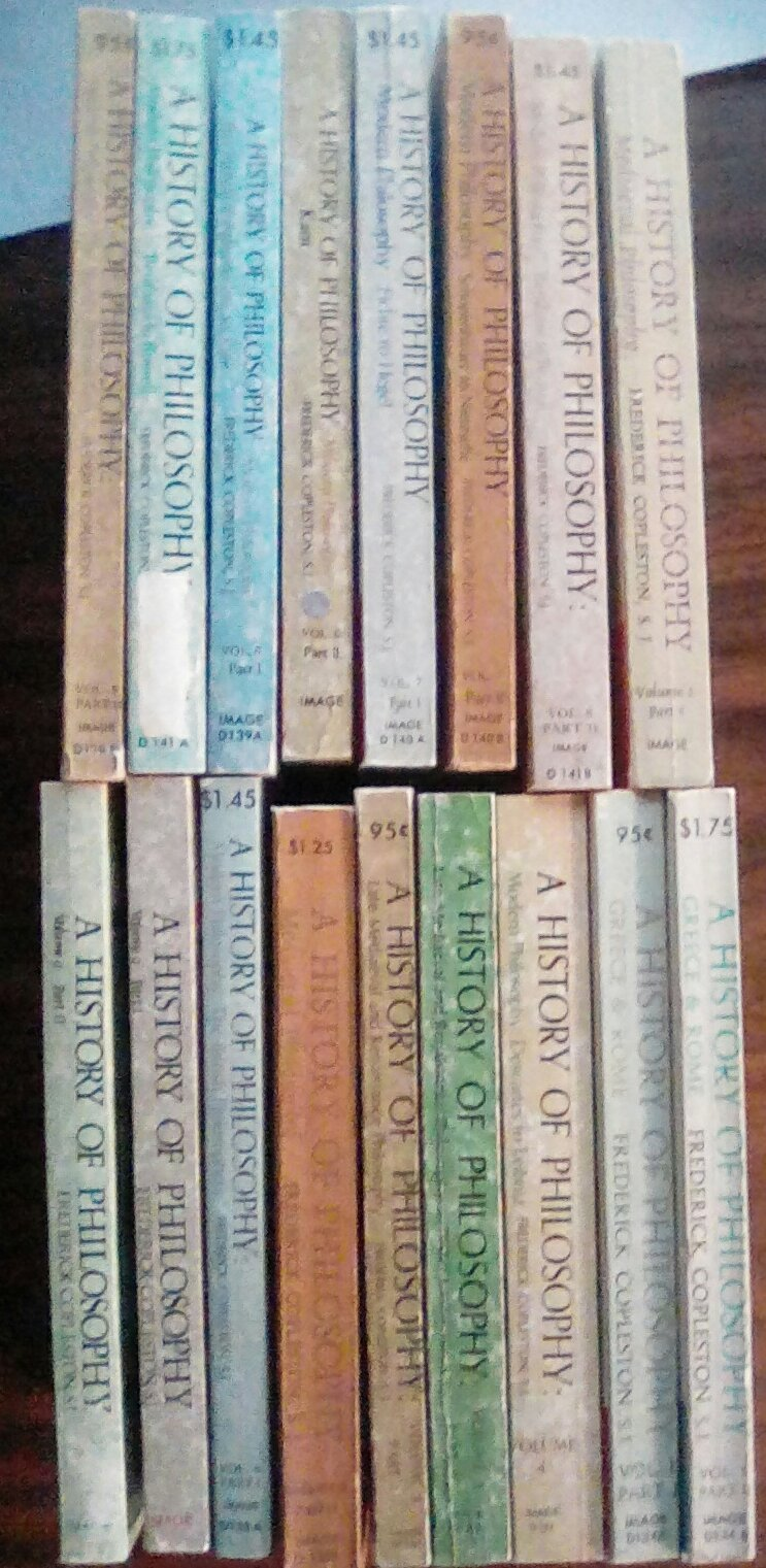 Complete Set A History Of Philosophy By Frederick Copleston A