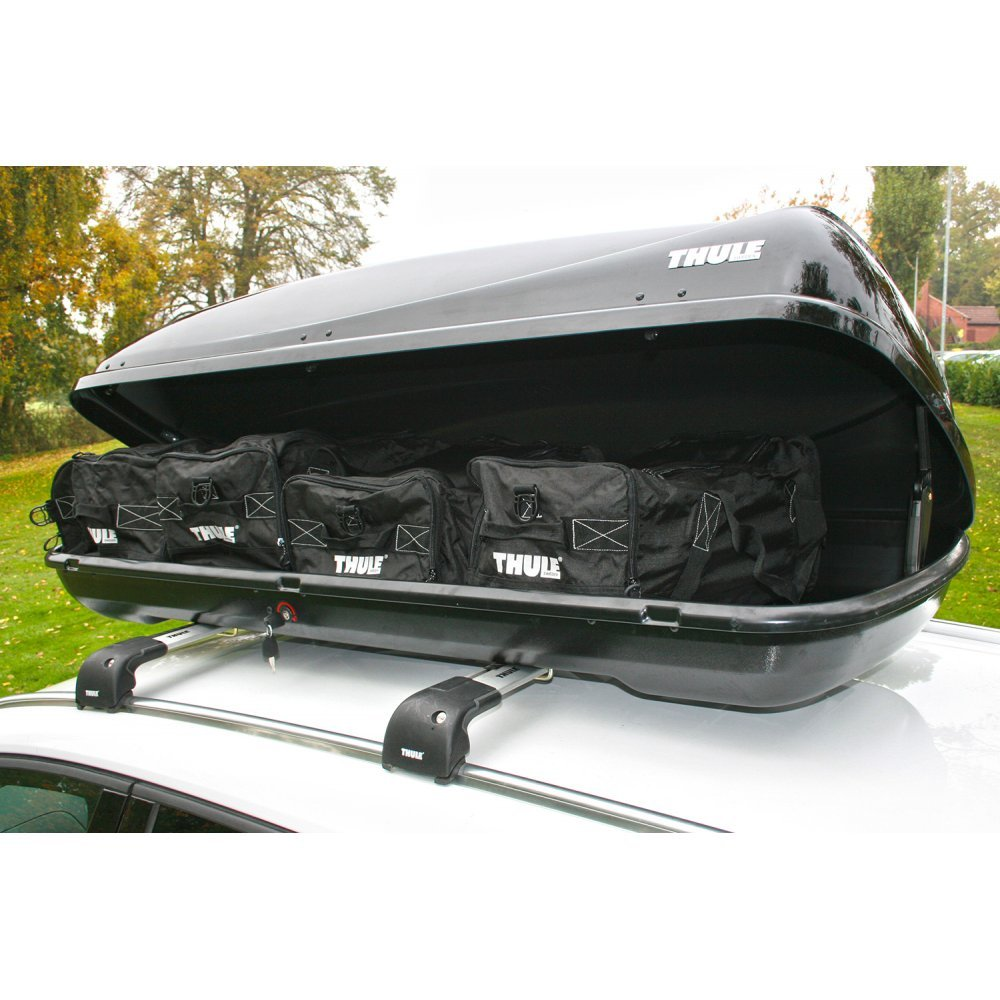 THULE Ocean 200 Car Roof Box   450 Litre Capacity: Amazon.co.uk: Car U0026  Motorbike