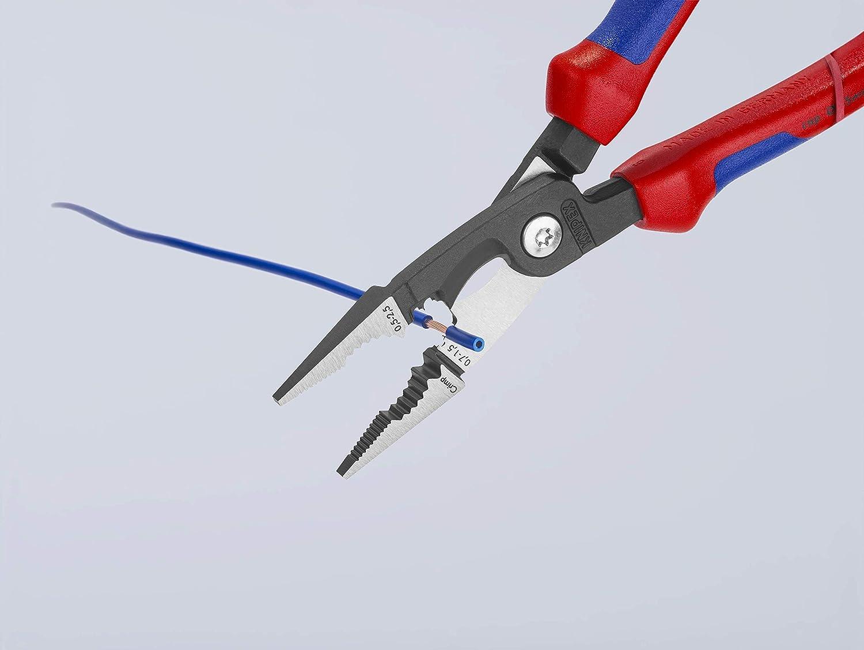 KNIPEX 13 82 200 Alicate para instalaciones eléctricas negro ...