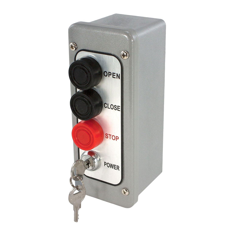 MMTC pbtl-3 NEMA 4 Exterior 2つボタンサーフェスマウントコントロールステーションwithロックアウト B00HS5X2F0