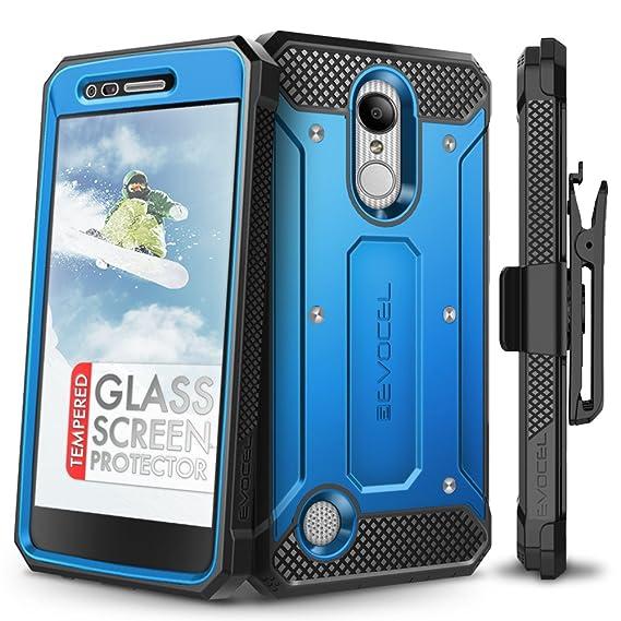 LG Aristo Case, Evocel [Explorer Series] Premium Full Body Case with Rugged  Belt Clip Holster for LG Aristo/LG K4 (2017) / LG Rebel 2 / LG Fortune/LG