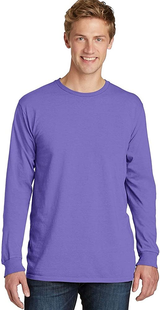 Port /& Company Pigment-Dyed Long Sleeve Tee PC099LS