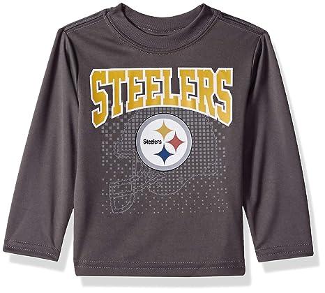 reputable site 5c1e8 4cfb7 Amazon.com : NFL Pittsburgh Steelers Unisex Long-Sleeve Tee ...
