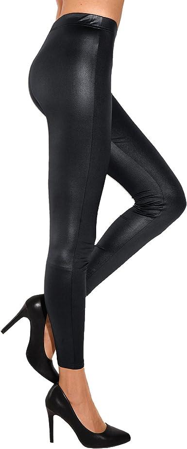 VENCA Legging élastique Brillant Femme 117074:
