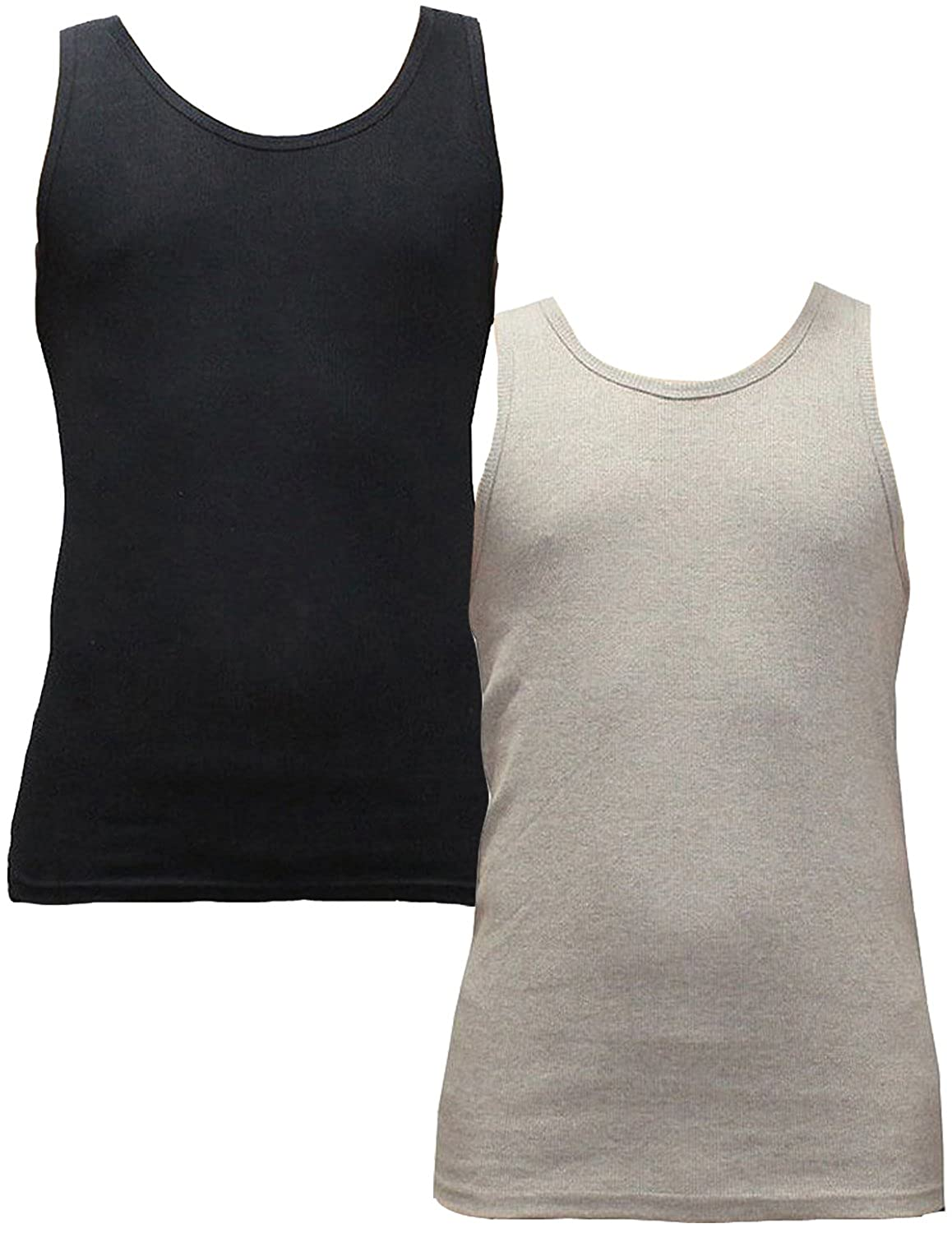 -Pack of 2- Men's Athletic Summer Muscle Tank Tops