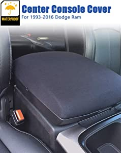 Ram 1500 Center Console Cover for Dodge Ram 2500 3500 Console Armrest cover, 2013-2020