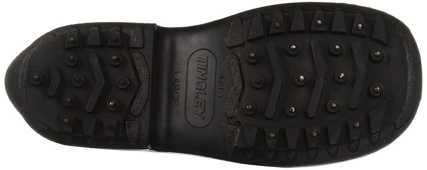 WINTER-TUFF 1350.LG Hi-Top Rubber Cleated//Studded Outsole Boot Large Black