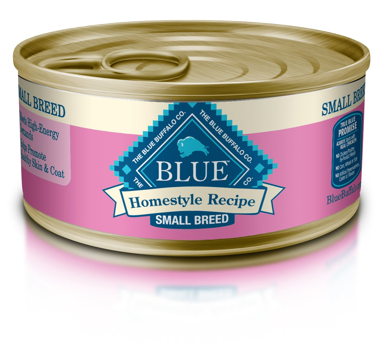 Blue Buffalo Homestyle Recipe Natural Adult Small Breed Wet Dog Food ...