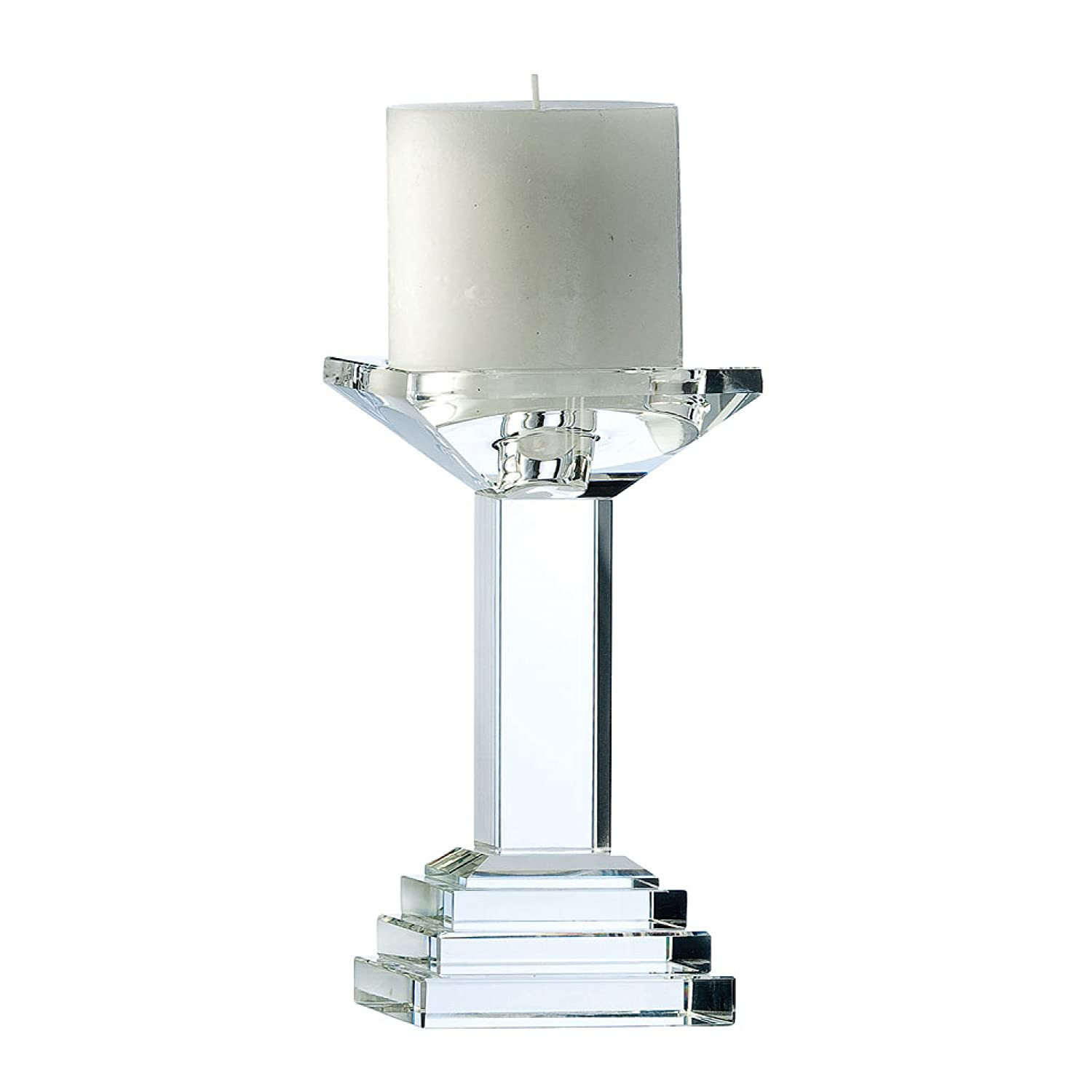 Galway 7-inch Paris Candleholder, Transparent PA80