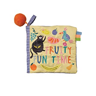Manhattan Toy Fruity Fun Time Soft Book, Ages 0 Months & Up