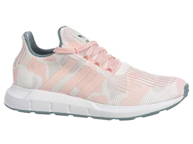 the best attitude 8a008 57d44 Image Unavailable. Image not available for. Color  adidas Originals Swift  Run - Women s Talc Icey Pink White Nylon Running Shoes 6