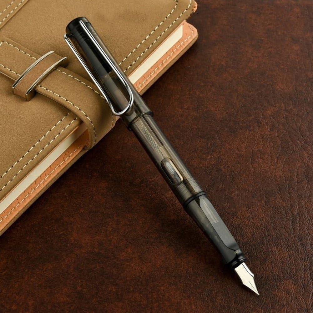 BIGBOBA Multifunzione Penna,Scrittura Liscia Penna stilografica Penna Firma Ufficio,Ricarica 5mm Sottile