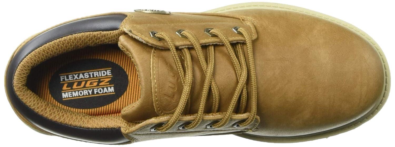 Lugz Mens Empire Lo WR Oxford Boot Autumn Wheat//bark//Cream//Gum 8 D US