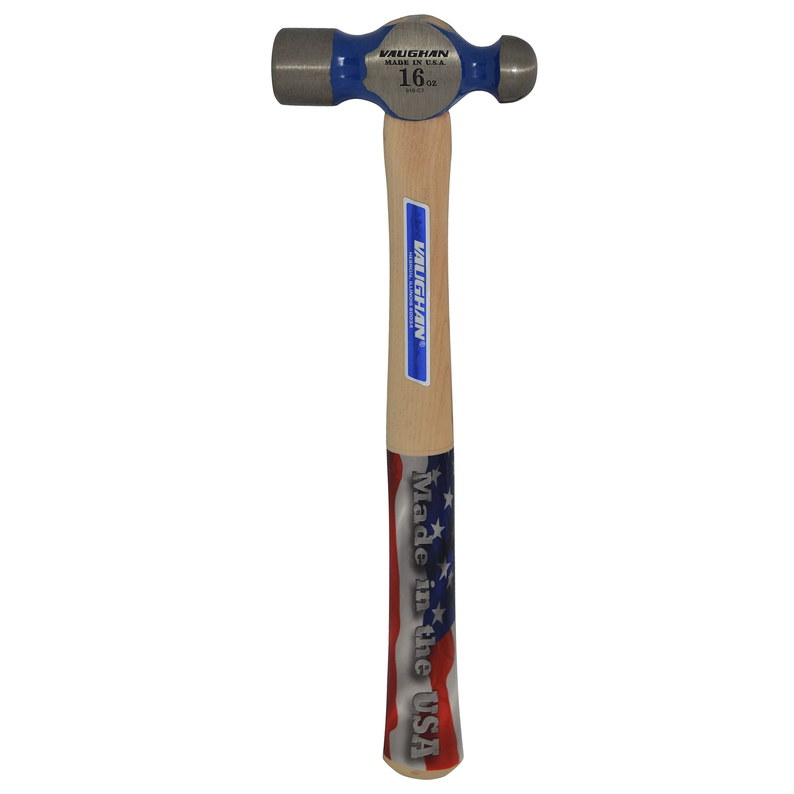 Vaughan TC016 16-Ounce Commercial Ball Pein Hammer by Vaughan (Image #3)