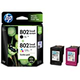 pritop 802Xl Ink cartridge Black and white Combo for HP
