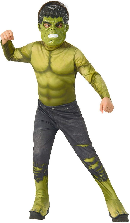 Avengers - Disfraz oficial de Hulk para niño, infantil 8-10 años ...