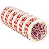 Packatape® - 6 rouleaux de ruban d'emballage fragile de 48 MM x 66 M pour colis et boîtes de bande de conditionnement. Ce paquet de 6 rouleaux d'emballagemarron et lourdfournit une forte, sécurisée et gluantescelle pour vos boîtes. La fiabilité est assurée.