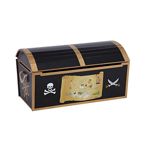 Pirate Treasure Chest Toy Box