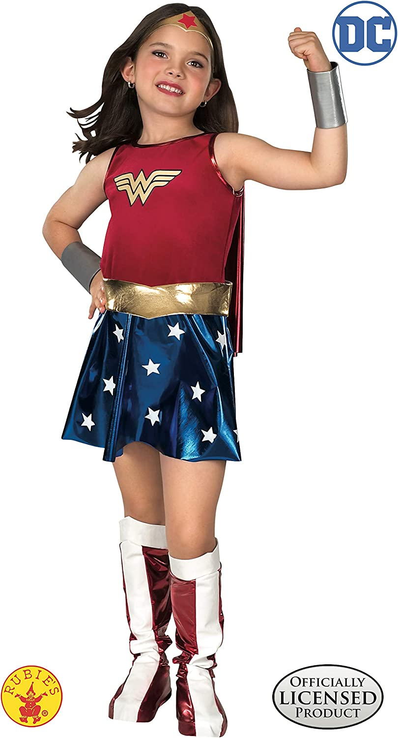 Amazon.com: Super DC Heroes Wonder Woman Childs Costume ...