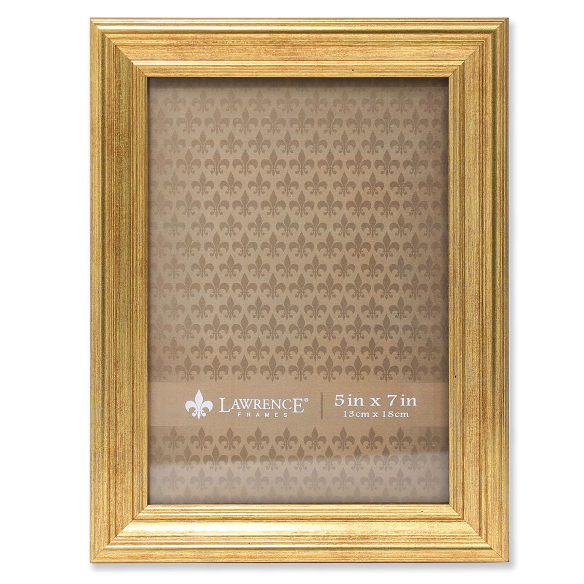 Amazon.com - Lawrence Frames Sutter Burnished Picture Frame, 5 by 7 ...