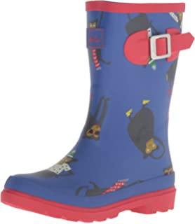 Amazon.com | Joules Women's Welly Print Rain Boot | Rain Footwear