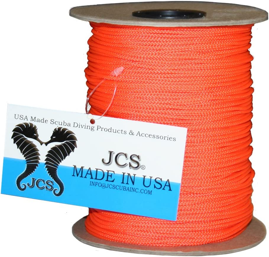 JCS No.24 Braided Polyester Dacron Reel Line, 1 LB Spool, 656 Feet 200 Meters , 3 Popular Colors
