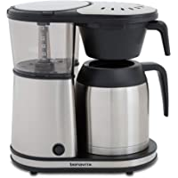 Bonavita Connoisseur 8-Cup One-Touch Coffee Maker Featuring Hanging Filter Basket and Thermal Carafe, BV1901TS…