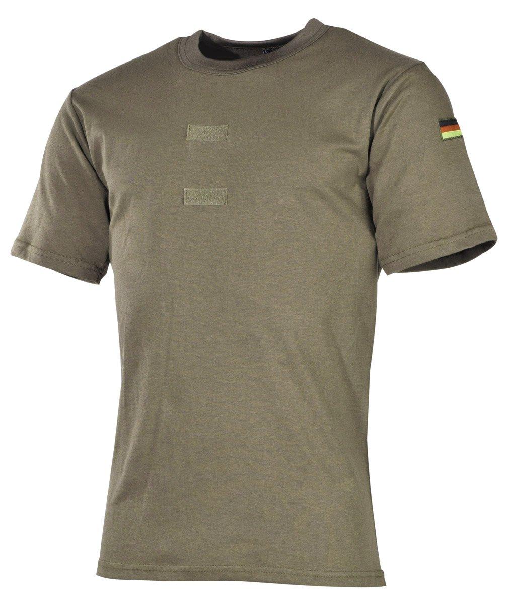 Mil-Tec BW Tropen T-Shirt m.Nat.Abz coyote