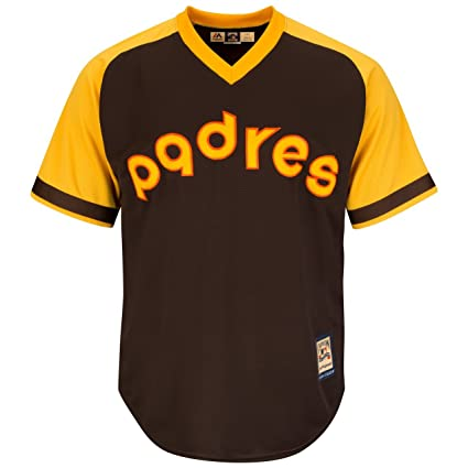 size 40 20129 090ed Amazon.com : San Diego Padres Cooperstown Majestic Cool Base ...
