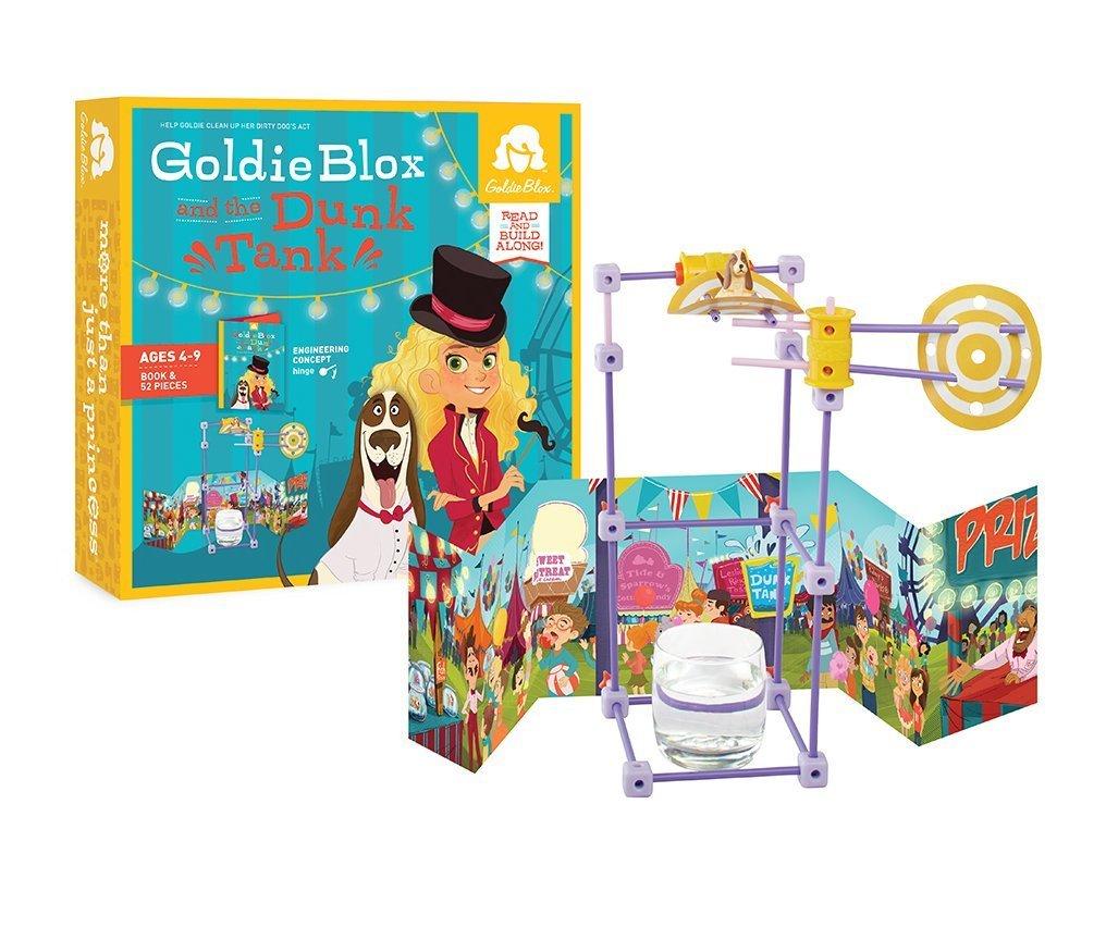 GoldieBlox an the Dunk Tank ON...