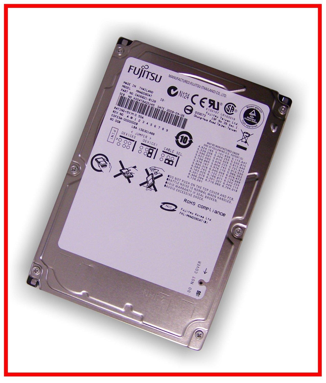Festplatte 25 Zoll Ide Fujitsu Mhw2080at Neu 80gb Hardisk Hdd Computer Zubehr