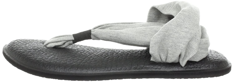 Sanuk Damen Yoga Yoga Damen Sling#2 Zehentrenner, Grau e7c0d7