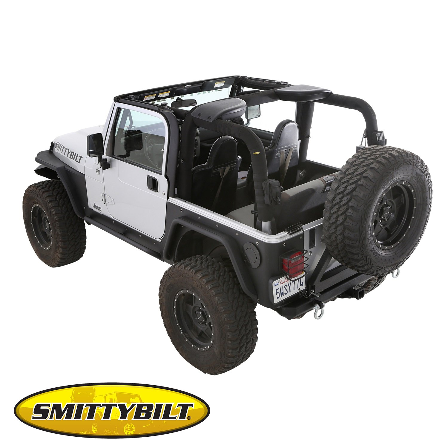 Brightt (S/B-VXR-508) Replacement MOLLE Roll Bar Padding fits Jeep, TJ, Wrangler 1997-2002 by Brightt (Image #4)