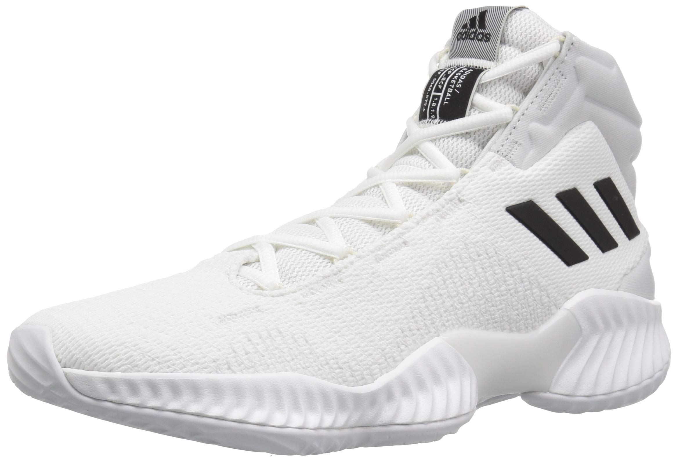finest selection 900c4 be950 Galleon - Adidas Men s Pro Bounce 2018 Basketball Shoe Black Crystal White,  10 M US