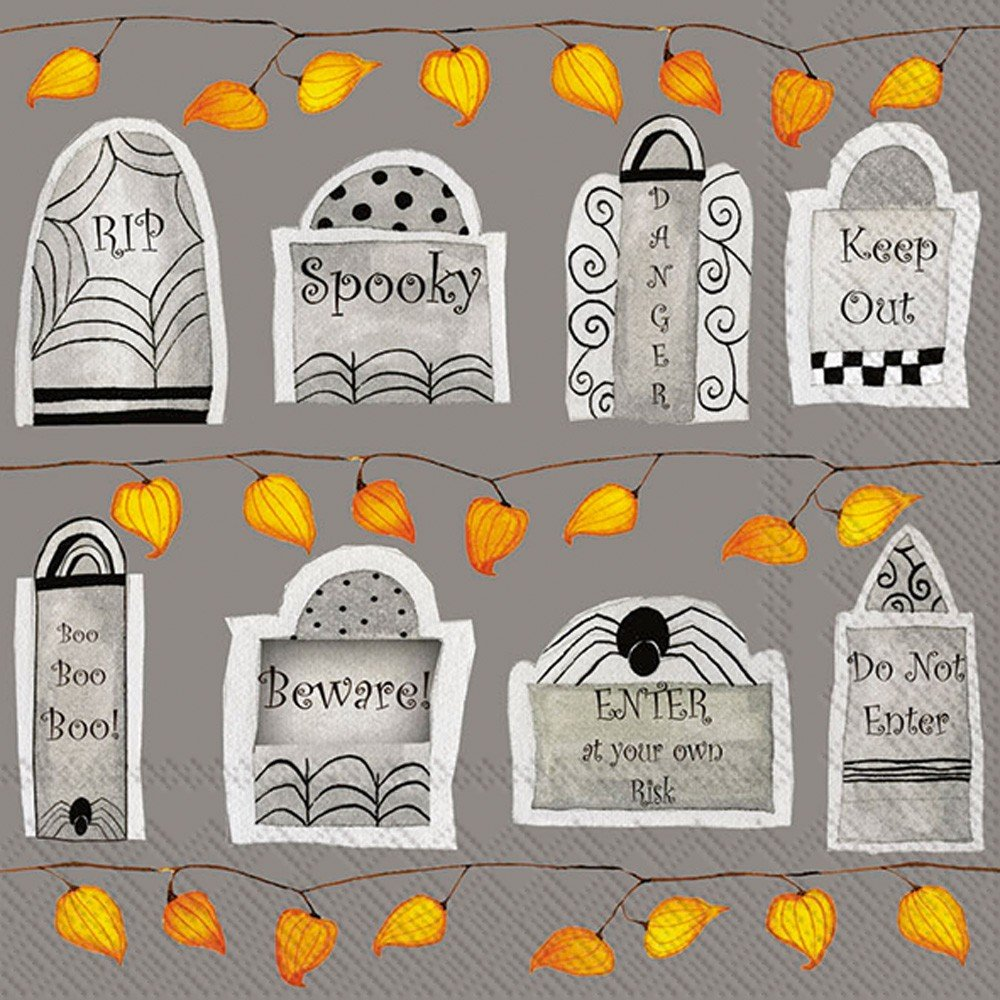 Tombstones L006200 Ideal Home Range Lunch Napkins