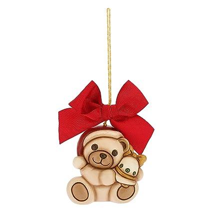 Thun Orso Teddy Grande Con Campanella Da Appendere Addobbo