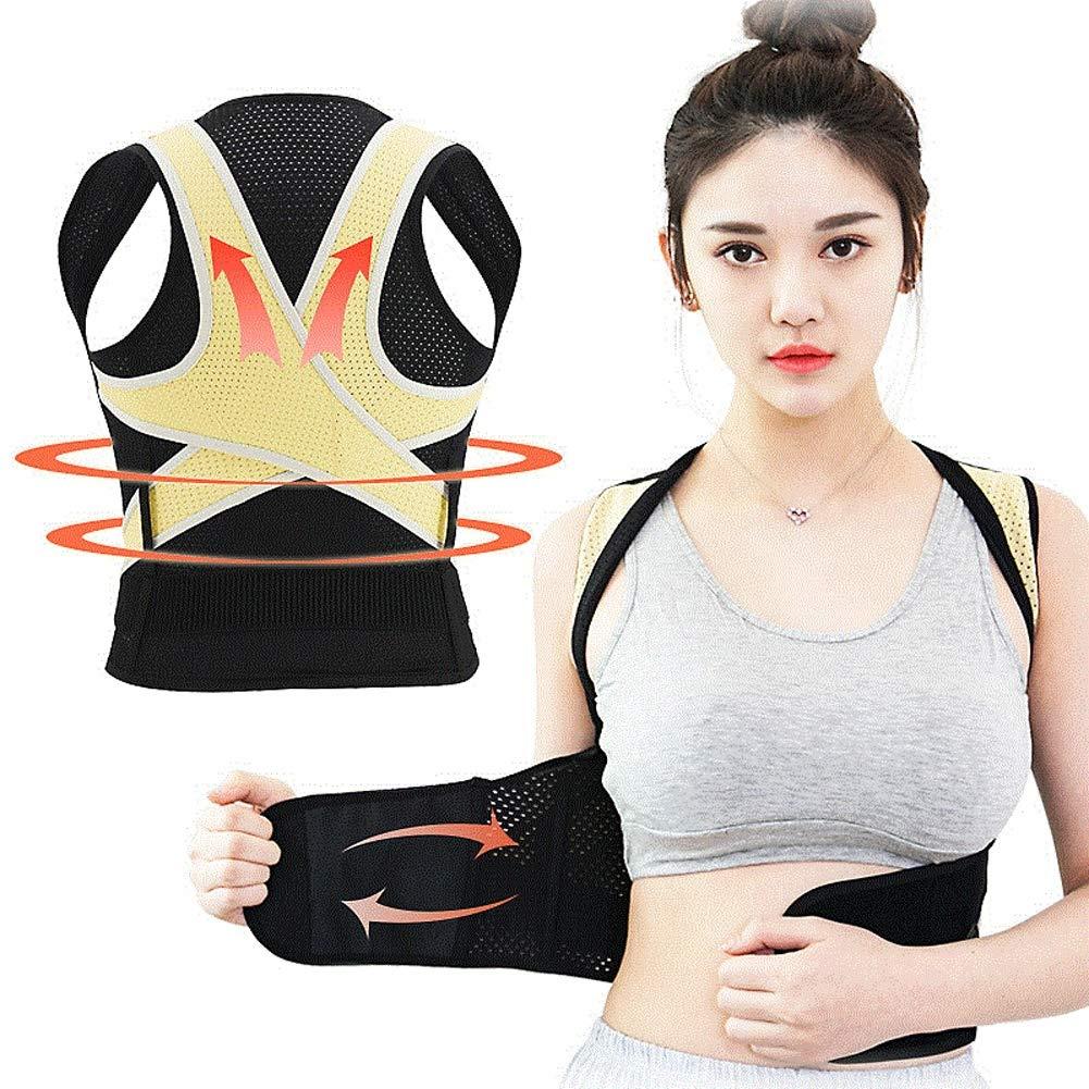 WSNH888 Ajustable Invisible Espalda Postura Corrector-Postura ...
