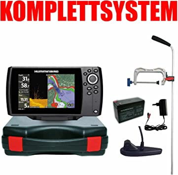 Humminbird Echolot GPS portátil Profesional – Helix 7 Chirp GPS Di G2 Down Imaging: Amazon.es: Deportes y aire libre