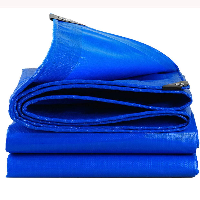 LRZS Im Freienlastwagen-starker Wasserdichter Stoff-Wasserdichter Sunscreen-Plane-Regen-Schatten-Segeltuch-Segeltuch-Schuppen-Plane-Isolierung (Farbe : Blau, größe : 3  4m)