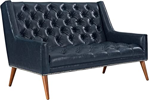 Modway Peruse Upholstered Modern Tufted Loveseat