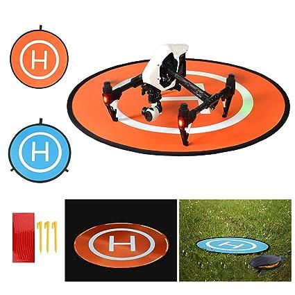 BelleStyle Drone Landing Pad, 75cm Impermeable y Plegable ...