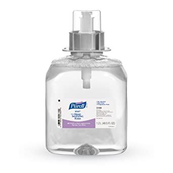 Gojo Purell Advanced Hand Sanitizer Foam Sikes Paper
