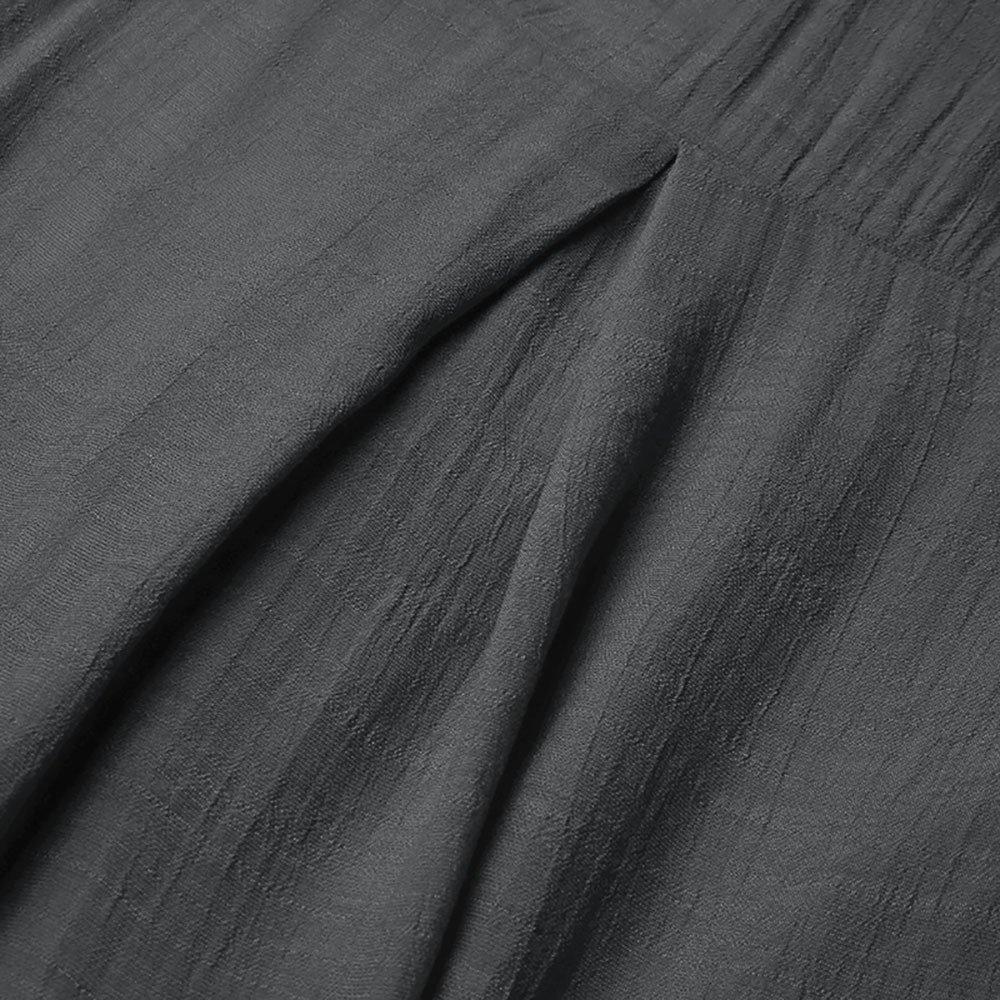 VRTUR Manche Longue Femmes Solide Bouton De Couleur Tricot/é Dames en Forme Blouse /À Col en V D/éContract/éE Un Sweatshirt Irr/éGulier Ourlet Hauts Sauteur Chemisier