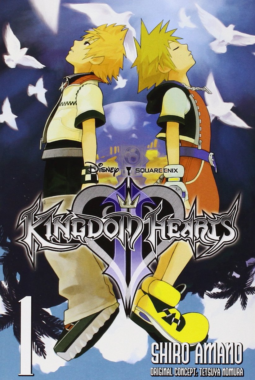 Kingdom Hearts Ii Vol 1 Manga Shiro Amano 9780316401142