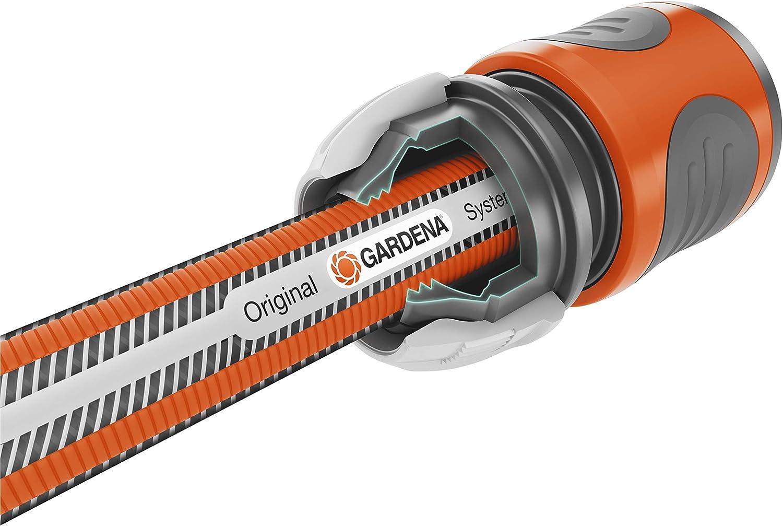 35 bar Berstdruck 50 m: Gartenschlauch mit Power-Grip-Profil beschichtete Schlauchtrommel /& Premium SuperFLEX Schlauch 13/mm Gardena Metall Schlauchwagen 100: Stabile 1//2 Zoll